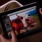 la volpe sul tablet